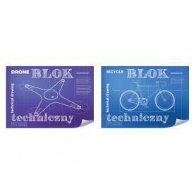 Hamelin 068518 Blok techniczny biały A4