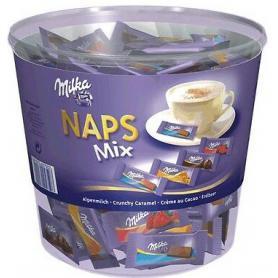 Milka czekoladki Naps Mix 207 sztuk 730369