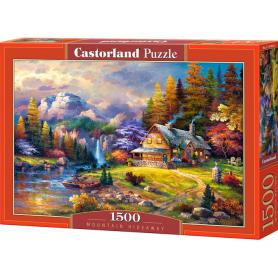 Castorland 151462 Puzzle Mountain Hideway