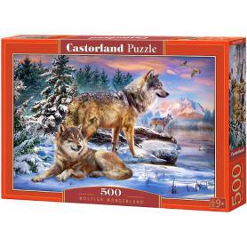 Castorland 053049 Cudowna kraina wilków