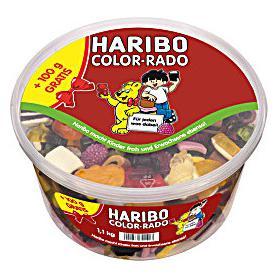 Haribo 720608 żelki Party Box 1,1kg Color-Rado