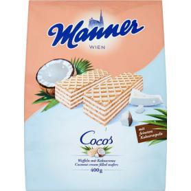 Manner 607900 Cocos Wafle kokosowe