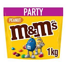 M&M's party draże czekoladowe 1 kg  peanut 342179
