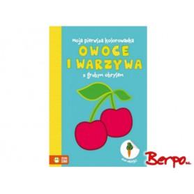 Zielona Sowa Kolorowanka - owoce i warzywa 541268