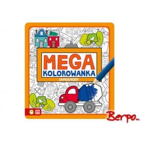 Zielona Sowa Mega kolorowanka samochody 730779