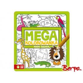 Zielona Sowa Mega kolorowanka Mapa Świata 730809