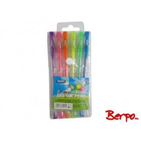 AMEX Długopisy żelowe fluorescencyjne 795254