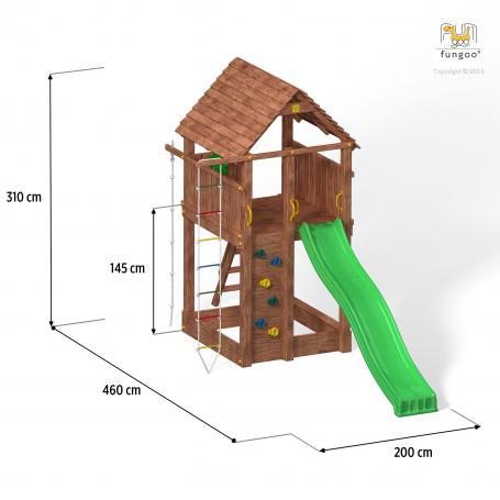 PLAC ZABAW WIEŻA Fungoo Fortress 03160