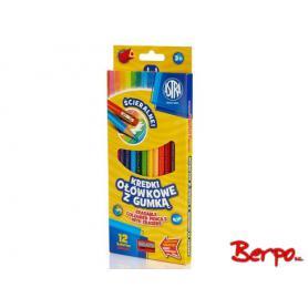 ASTRA Kredki ołówkowe 12 kolorów 312119001