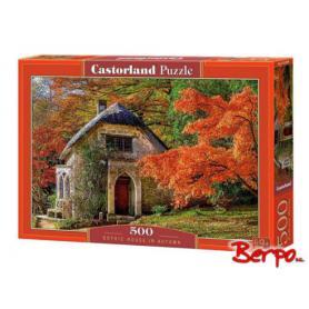 Castorland 052806 Puzzle Gothic House in Autumn