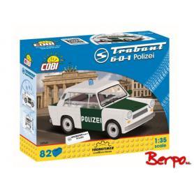 COBI 24541 Trabant 601 policyjny
