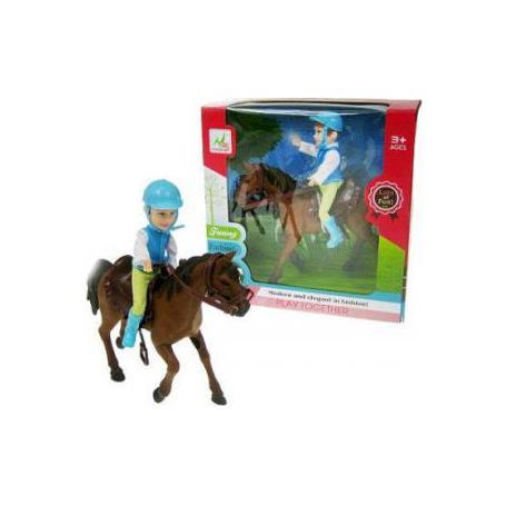 Hipo 021202 Dżokej na koniu