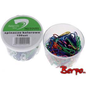 Dalprint spinacze kolorowe 150szt. 900514