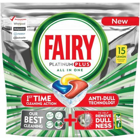 Fairy 985491 Kapsułki do zmywarki 15 sztuk