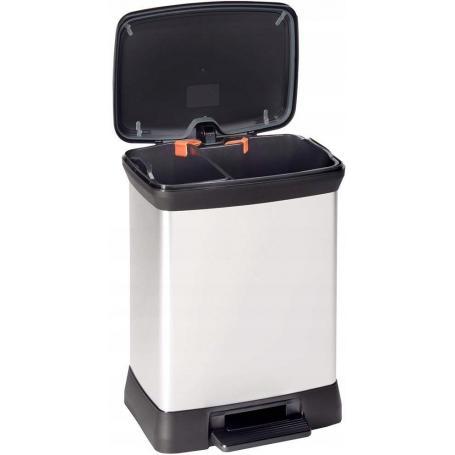 CURVER 165051 Kosz na śmieci z pedałem 10L + 18L