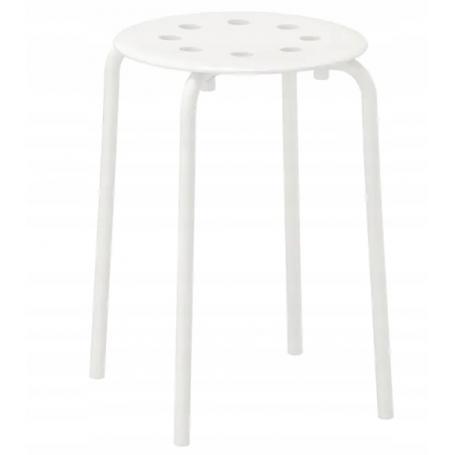 IKEA MARIUS 901.840.47 Stołek biały 45 cm