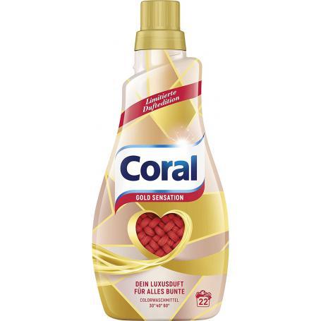 Coral żel do prania kolor 1,1l 907241