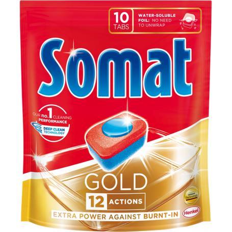 Somat 320831 Tabletki do zmywarki Gold 10 szt