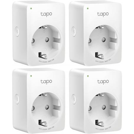 TP-LINK Tapo P100 Mini Smart Plug Wi-fi 4 sztuki