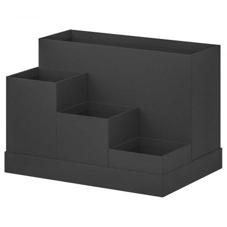 IKEA TJENA 803.954.89 Organizer na biurko czarny