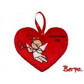 "BEPPE Serce z amorkiem ""kocham cię"" 104772"