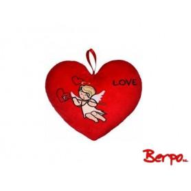 "BEPPE Serce z amorkiem ""love"" 104796"