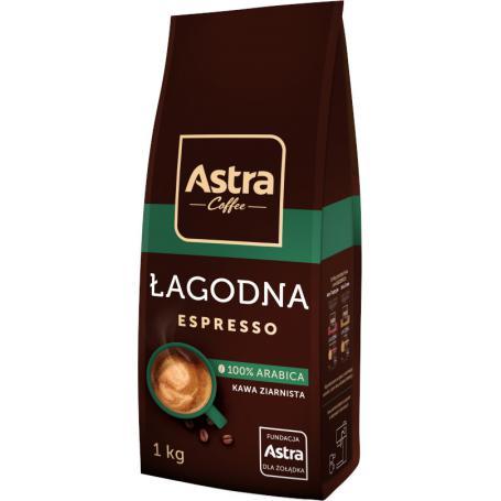 ASTRA Kawa łagodna espresso 1kg 010874