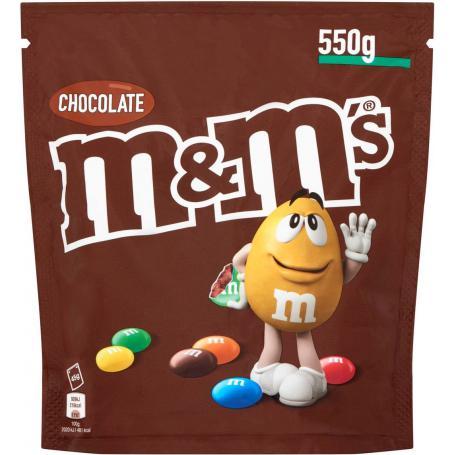 M&M's 262579 Draże czekoladowe choco 550g