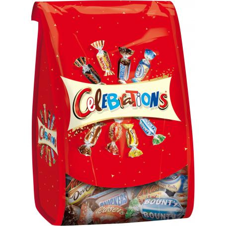Celebrations 501163 mix cukierków 365g