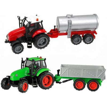 Hipo 244432 Traktor z przyczepą