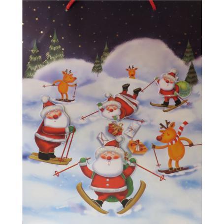W&K Torba ozdobna świąteczna 571483