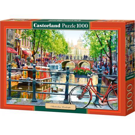 Castorland Puzzle Amsterdam landscape 103133