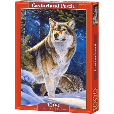 Castorland Puzzle strażnik 104062