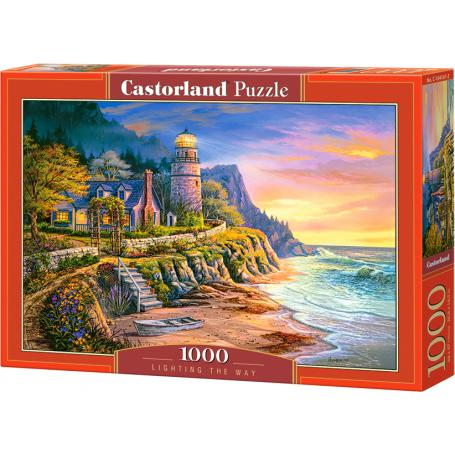 Castorland Puzzle Lighting the way 104161