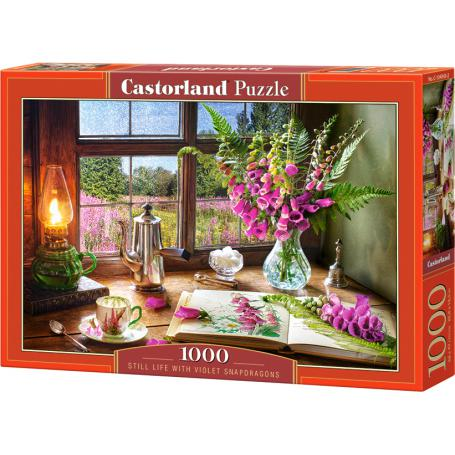 Castorland Puzzle 104345 Still life with violet