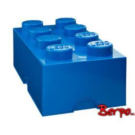 LEGO 400416 POJEMNIK 8 NIEBIESKI
