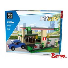 BLOCKI KB0212 MyCity Stacja benzynowa