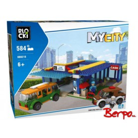 BLOCKI KB0218 MyCity Myjnia