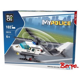BLOCKI KB6729 MyPolice Helikopter