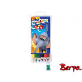 Majewski 000232 Kredki Bambino 6 kolorów