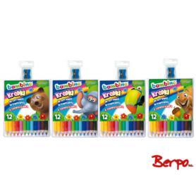 Majewski 000249 Kredki Bambino 12 kolorów