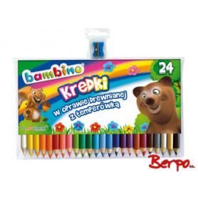 Majewski 000447 Kredki Bambino 24 kolory