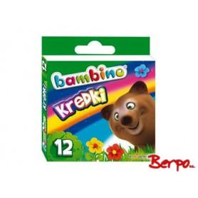 Majewski 000225 Kredki Bambino 12 kolorów