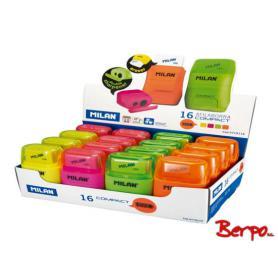 Milan temperówko-gumka Compact fluo 066255
