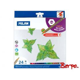 Milan kredki ołówkowe 24 szt. 0722124