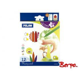 Milan kredki woskowe Plastipastel 80013