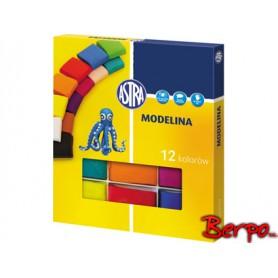 ASTRA modelina 12 kolorów 304110001