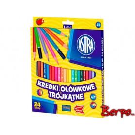 ASTRA Kredki ołówkowe 24 kolory 312110003