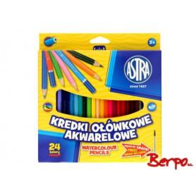 ASTRA Kredki ołówkowe 24 kolorów 312110005