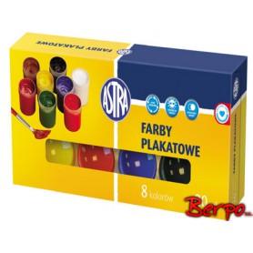 ASTRA Farby plakatowe 8 kolorów 83112903